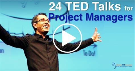 ted talks  project managers onlinepmcourses