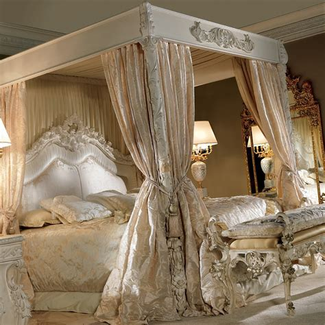 extravagant luxurious  poster bed