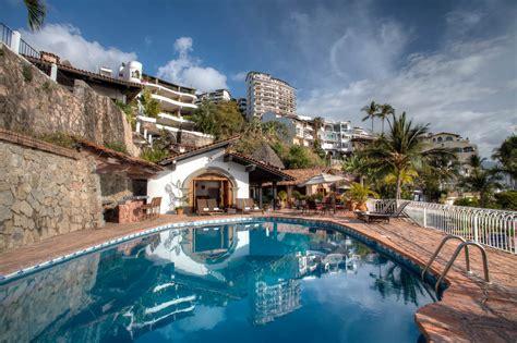 villa celeste beachfront villa  puerto vallarta mexico