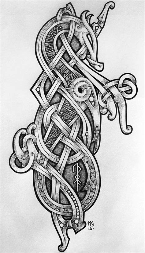 From Norse Arts by Micke Johansson | Celtic | Pinterest | Vikings, Tattoo and Viking tattoos