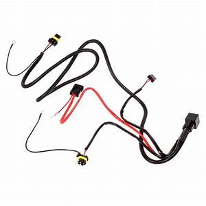 car xenon h7 hid conversion kit relay wire harness adapter With h4socketwiring2