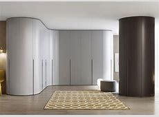 Tempo Curved Wardrobe Fitted Wardrobes Bedroom Furniture