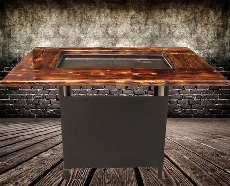 Backyard Steakhouse Grill by Backyard Hibachi Grill Torched Steel