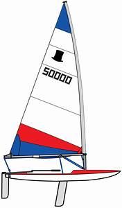Topper Sail 5 3 Rolled Red  U0026 Blue - Sails