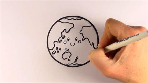 draw  cartoon earth youtube