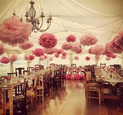 decorer une salle pour un mariage fabriquer une fleur en papier de soie 67 id 233 es diy remarquables