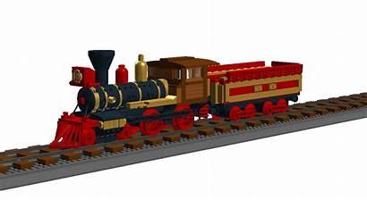 Lego Steam Train American Deviantart One1