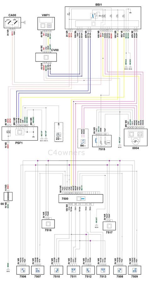 Citroen C4 Grand Picasso Wiring Diagram by Forums C4 The Garage How To Fit Factory Parking