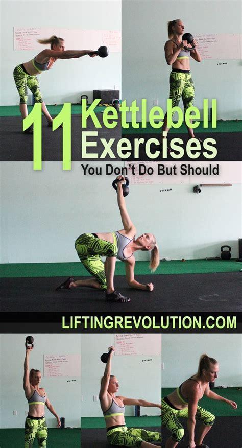 kettlebell exercises fun