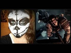 Call Of Duty Ghosts Mask Transformation Face Paint