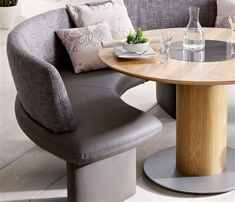 curved bench seating kitchen table curved banquette seating home decor
