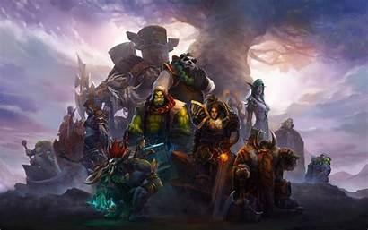 Warcraft Wallpapers Blizzard Desktop Wow Horde Pc