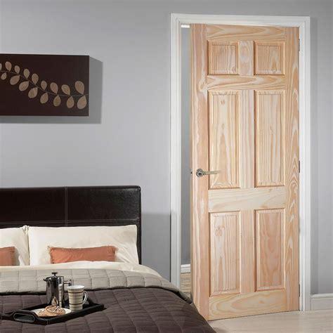 panel pine door raised fielded panels