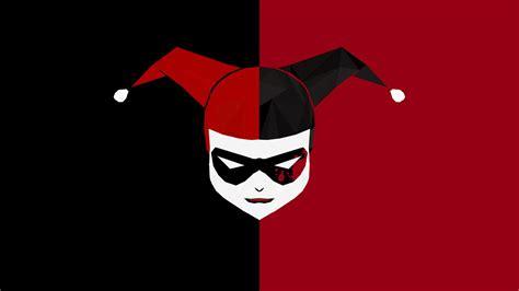 Illustration, Joker, Harley Quinn, Poly