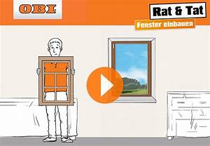 Fenster Einbauen Video : fensterbank richtig montieren obi zeigt wie es geht ~ Orissabook.com Haus und Dekorationen