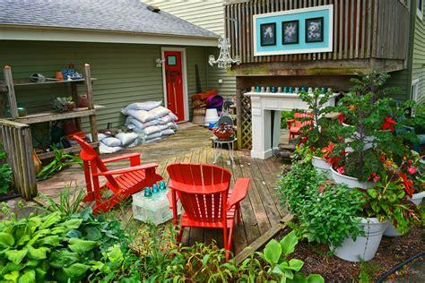 an outdoor garden potting bench room coronado