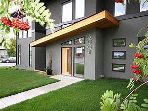 Modern City Duplex - Contemporary - Exterior - calgary