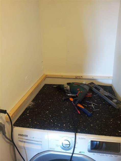 mettre seche linge sur lave linge un podium pour le lave linge recrafteur