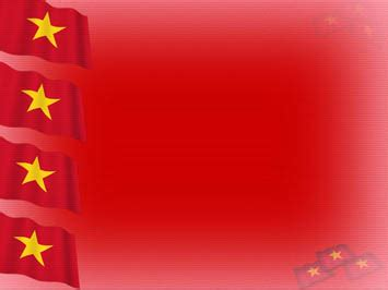 vietnam flag  powerpoint templates