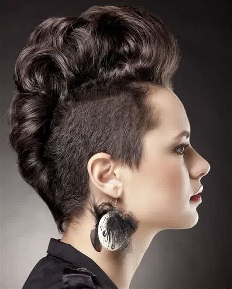Mohawks Hairstyles by 20 Mohawk Hairstyles For Feed Inspiration