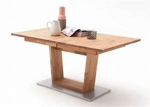 Esstisch Ausziehbar Holz Massiv : die besten 25 massivholztisch ausziehbar ideen auf pinterest laminat ikea kleiner ~ Markanthonyermac.com Haus und Dekorationen