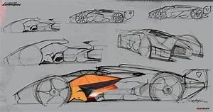 Lamborghini_Egoista_sketch | Forecastingirl