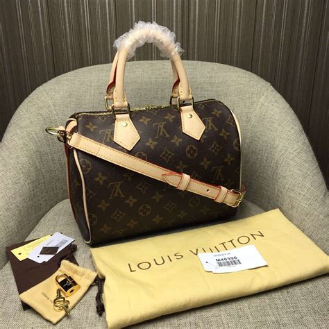 louis vuitton monogram canvas speedy bandouliere