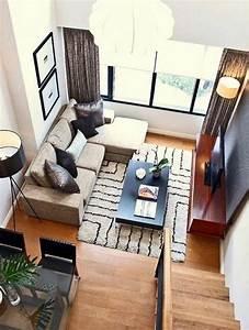 1001 idees pour amenager une chambre en longueur des With tapis couloir avec petit canapé beige