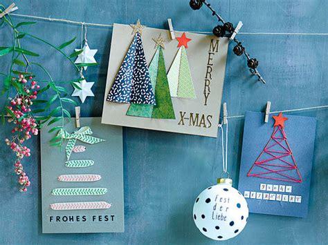 weihnachtskarten zum selber machen weihnachtsdeko die sch 246 nsten ideen zum selbermachen
