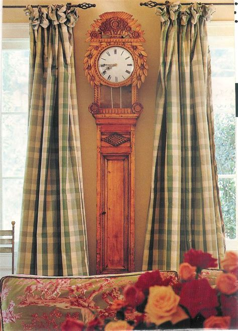 Plaid Curtains And Drapes - top 25 ideas about plaid country curtains on