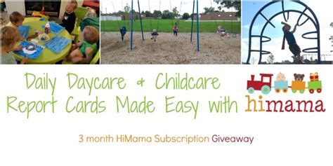Daily Daycare Report Cards Made Easy With #himama! {+ 3mo