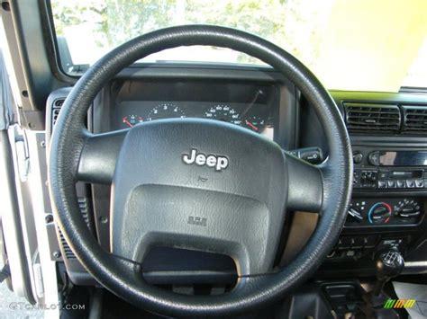 jeep rubicon steering wheel 2004 jeep wrangler se 4x4 steering wheel photos gtcarlot com