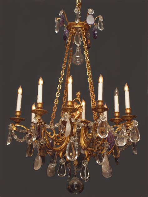 antique baccarat chandelier chc22 for