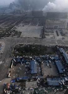 Devastating scenes as huge explosion rocks Chinese city of ...