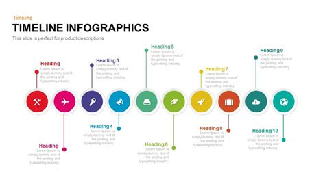 timeline infographic powerpoint template  keynote