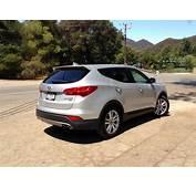 Hyundai Santa Fe 20L Turbo Review  CarAdvice