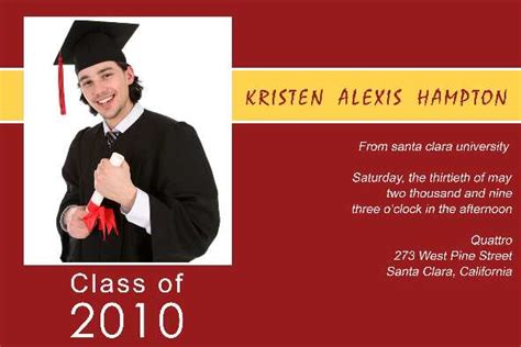 Graduation Announcements Templates Free by Free Photo Templates Graduation Announcement