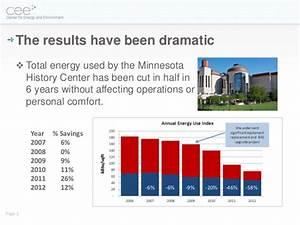 Minnesota History Center: Six Years of Energy Conservation ...