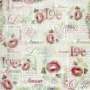 rice paper decoupage scrapbooking sheet craft love letter With love letter scrapbook
