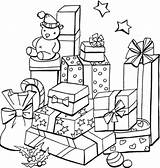 Coloring Pages Christmas Presents Present Recognition Develop Creativity Ages Skills Focus Motor Way Fun sketch template
