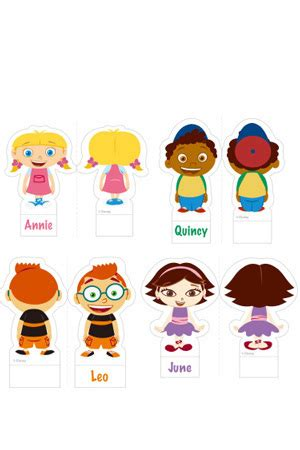 Disney Junior Little Einsteins Characters