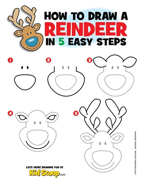 Best 25+ Reindeer Drawing Ideas On Pinterest  Christmas Doodles, Drawing Santa And Xmas Clip Art