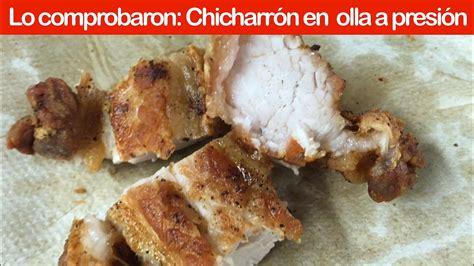 Truco: Cómo preparar Chicharrón en olla rápida o en olla a