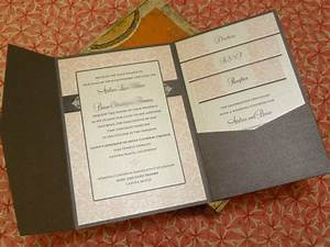 pink damask wedding invitations elegant vintage romantic With buy pocketfold wedding invitations