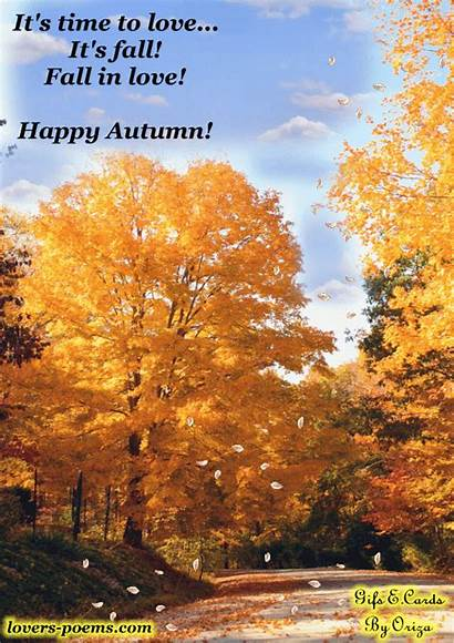 Autumn Fall Poems Happy Quotes Season Famous