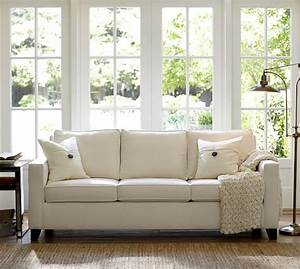 cameron square arm upholstered sleeper sofa with robin With pottery barn cameron sofa sectional