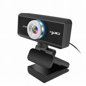 Hxsj S90 Hd Webcam 720p Web Cam 360 Degree Rotating Pc