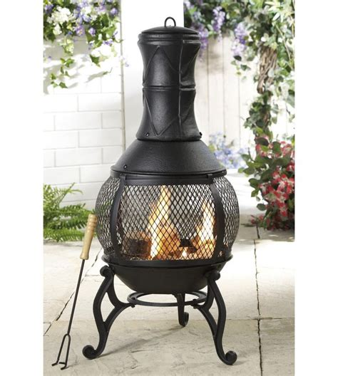 25+ Best Ideas About Chiminea Fire Pit On Pinterest Used