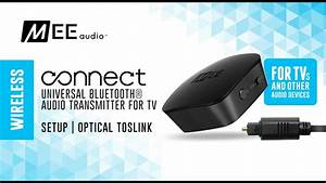 Mee Audio Connect Optical Toslink Setup Guide  Purchased