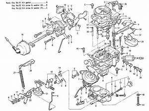 Datsun 1200  B110  Carburetor  No Emission Control